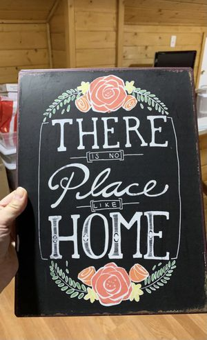Metal paper size home decor for Sale in Tacoma, WA
