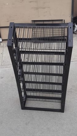 """FREE Metal Rack 22""""wide 7"""" depth 36""""high .Free with any other purchase of another rack ( Please Check Out All My Offers Too) for Sale in Compton,  CA"""