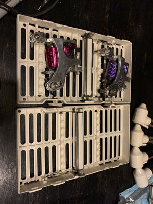 Permanent Makeup Equipment and Supplies CUSTOM JOHN HASHEY TATTOO MACHINES WITH POWER SUPPLY for Sale in Marietta, OH