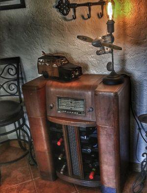 Vintage radio wine cabinet for Sale in DeBary, FL