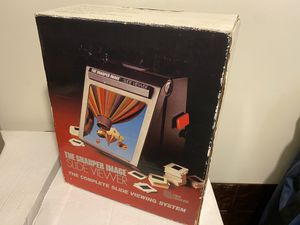 Sharper Image 35mm instant slide projector 8x and 24x amplified image ( Lightly used) works excellent for Sale in Pasadena, CA