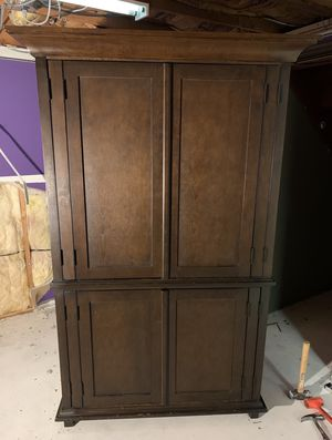 Pottery Barn solid wood Armoire for Sale in Sandy Hook, CT