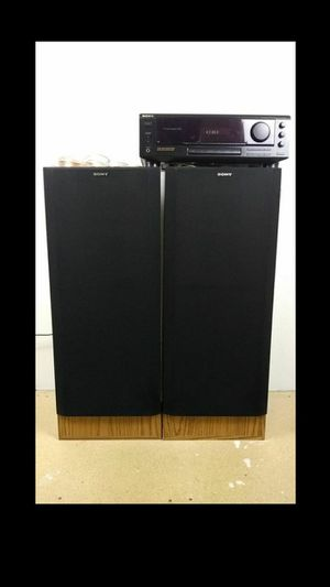 Vintage Sony SS-U307 Speakers With Sony STR-DE310 Stereo System Tested Works Great for Sale in Woodburn, OR