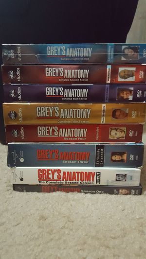 Grey's Anatomy Season 1 - 8 DVD for Sale in Cary, NC