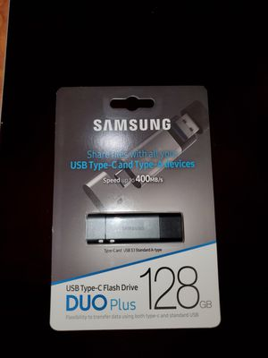 Samsung USB Type-C Flash Drive 128GB for Sale in Inglewood, CA