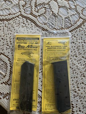 8 round 45 amp magazines for Sale in South Gate, CA