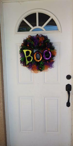 Halloween door wreath for Sale in Hesperia, CA