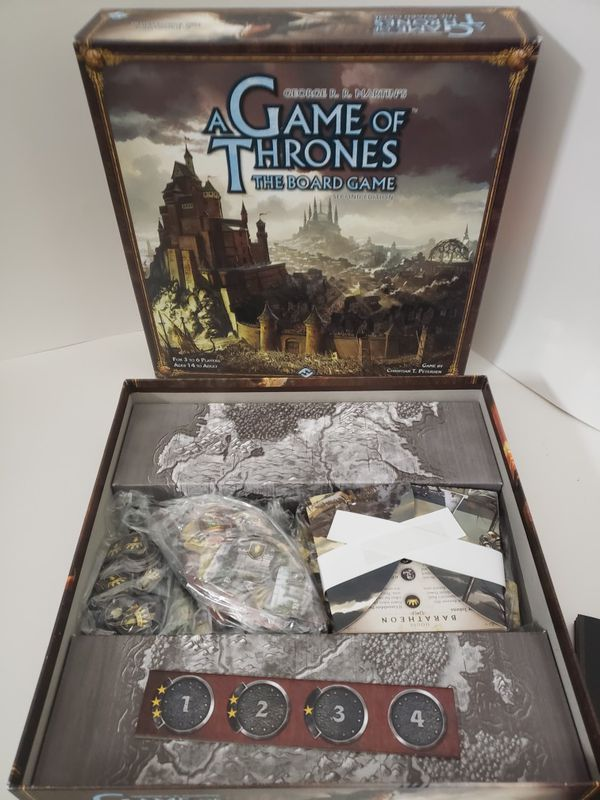 Like new Game of Thrones Board game 2nd ed