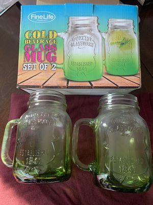 Cold beverage glass mug set for Sale in Chicago, IL