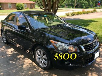 ✅🟢💲8OO Urgently Selling By Owner 2OO9 💚 Honda Accord V6 EX-L Comfortable fully loaded.Clean tittle!!✅🟢!!!!! for Sale in Arlington,  VA