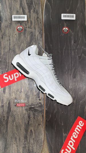 "Nike Air Max 95 ""White/Black"" for Sale in Annandale, VA"