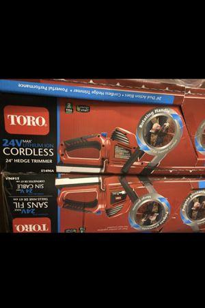 Toro 24v sans fil for Sale in Hayward, CA