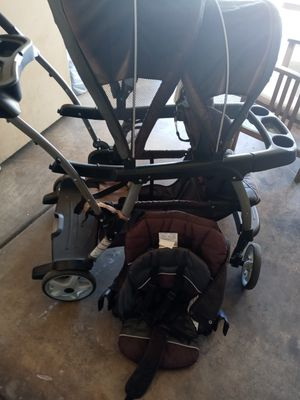 Double stroller sit n stand for Sale in Glendale, AZ