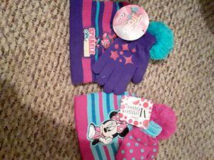 Troll & Minnie hat & glove sets. for Sale in Louisville, KY