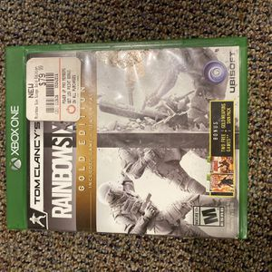 Rainbow Six Seige: Gold Edition Xbox One for Sale in Amherst, VA
