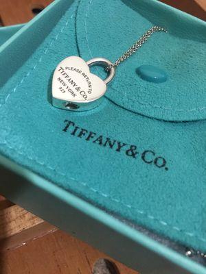 Tiffany & Co Heart Lock Necklace for Sale in Alexandria, VA