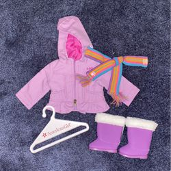 American Girl Doll Frosty Fun Set for Sale in Sutton,  MA