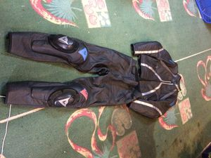 Dainese leather motorcycle pants and jacket for Sale in San Diego, CA