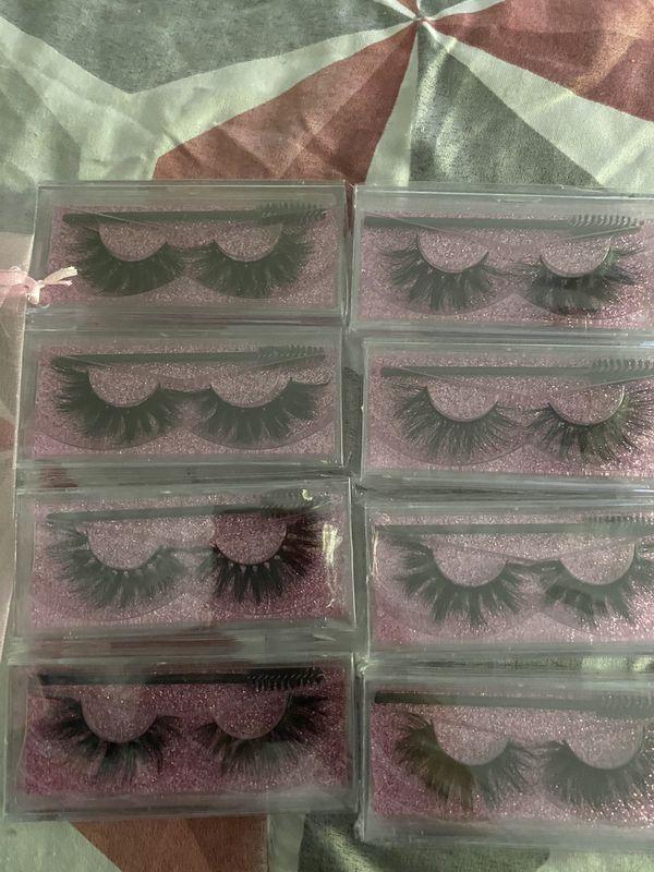 25 MM Mink Eyelashes.