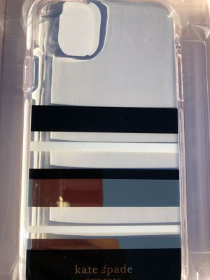 Kate spade New York park stripe case iphone 11 for Sale in Fontana, CA