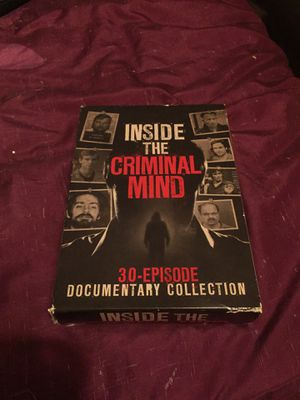 Inside the criminal mind, 30-episode Documentary collection. for Sale in Ansonia, CT