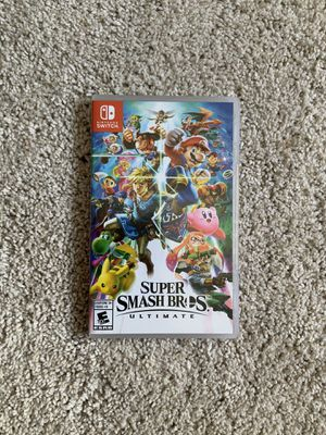 Super Smash Bros Ultimate for Nintendo Switch for Sale in Enfield, CT