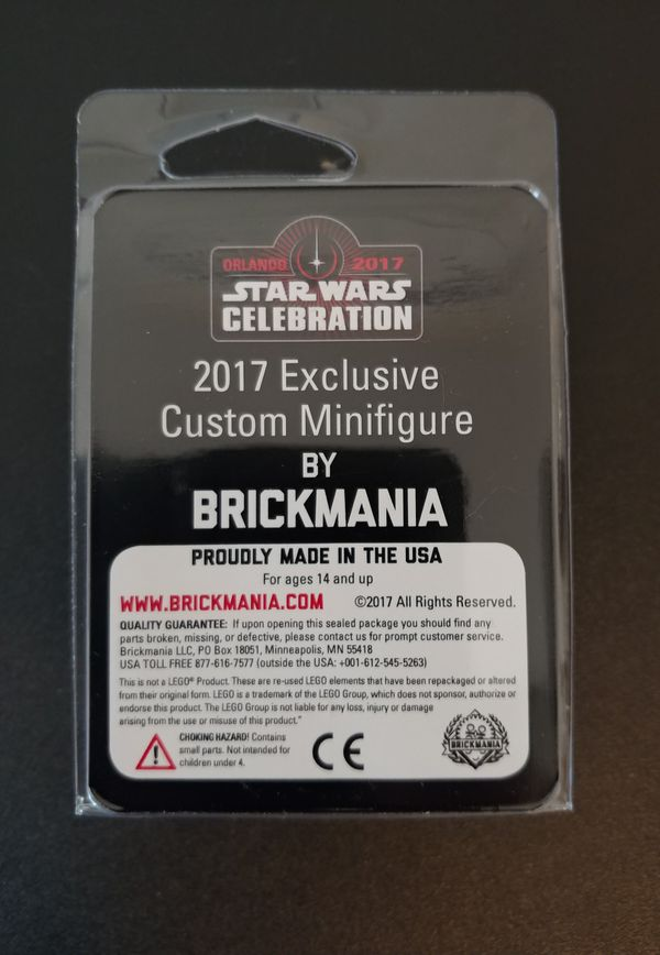 Brickmania · star wars celebration 2017 · exclusive mickey mouse figure w/  extra lightsaber for Sale in Clermont, FL - OfferUp