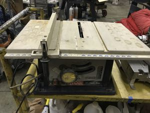 Ryobi 10 inch table saw Works great for Sale in Topanga, CA