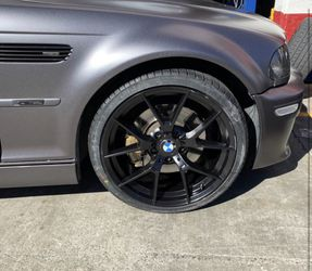 """Bmw 325i 19"""" New Amg Style Rims Tires Set for Sale in Hayward,  CA"""