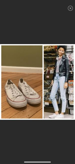 White converses for Sale in Baltimore, MD