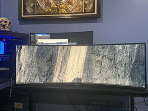 Samsung 43Inch curved ultra wide monitor for Sale in Romeoville, IL