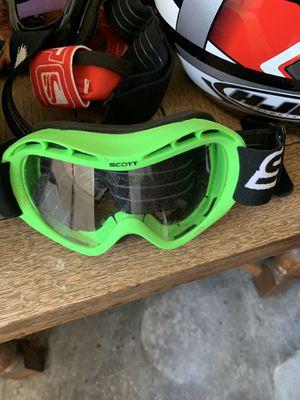 Scott racing goggles for Sale in Lodi, CA