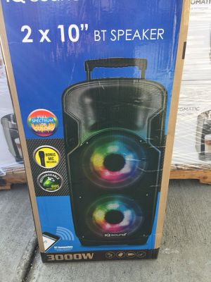 """5000 high power Bluetooth rechargeable portable double 15"""" speaker for Sale in San Francisco, CA"""