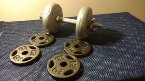 9 piece adjustable dumbbell weight set for Sale in Columbus, OH