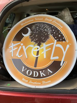 "19"" firefly Vodka metal sign for Sale in Virginia Beach, VA"