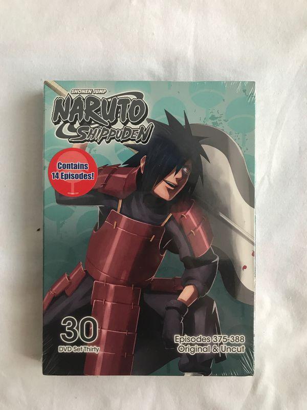 Brand New Naruto Shippuden DVD Set Thirty on DVD