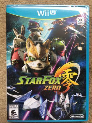 Star Fox Zero (Wii U) *UNOPENED* for Sale in Fairfax, VA