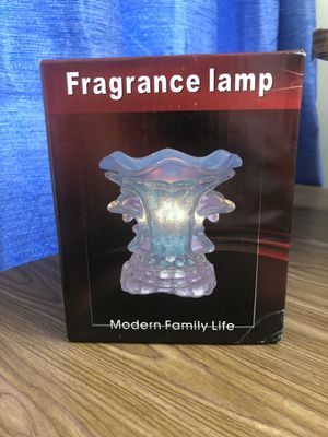 Fragrance lamp (Red, Orange, Blue, Purple, & Transparent) for Sale in Fort Lauderdale, FL