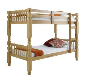 Solid Wood Brazilian Pine Bunk Bed Twin for Sale in Brooklyn, NY