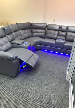 3 pc light up sectional for Sale in Euclid, OH