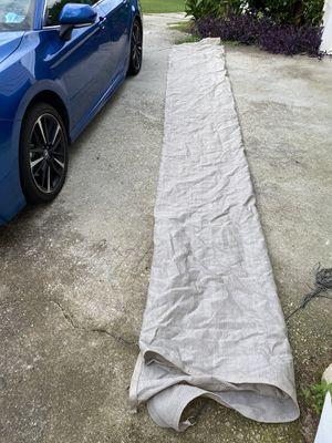 Pontoon Boat Cover mesh 19' for Sale in Lawrenceville, GA
