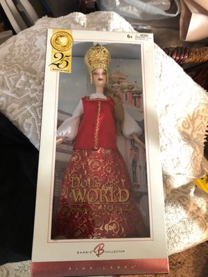 """Barbie's 2004 25th Anniversary """"Princess of the World"""" Collection..""""Princess of Imperial Russia"""" Pink Label for Sale in Buena Park, CA"""