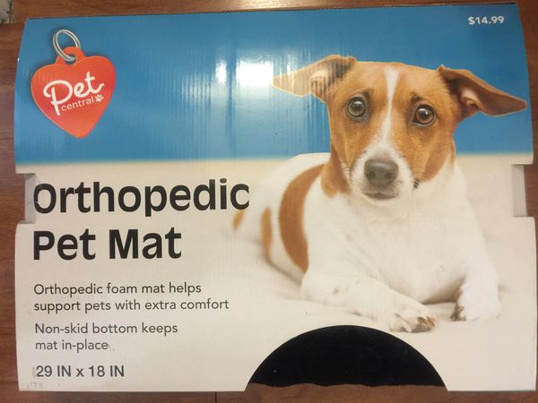 pet bed/mat orthopedic mat brand new (pick up only)