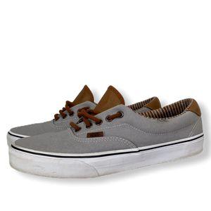 Vans Ultracush Men's Skate Sneaker Gray Brown Lace-Up Low-Top Shoe 721356 Size 10.5 for Sale in Longwood, FL