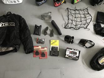 Motorcycle/dirt bike gear accessories. Message for prices for Sale in Dacula,  GA