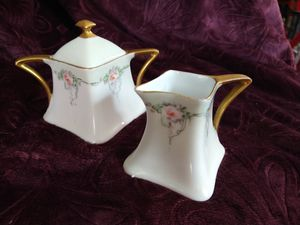 """Favourite Bavarian"" Antique creamer and sugar bowl. for Sale in Fullerton, CA"