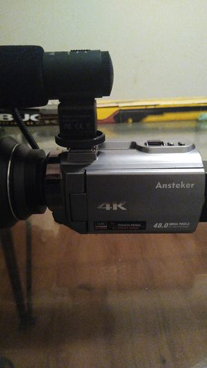 4K ansteker digital camera for Sale in Tampa, FL
