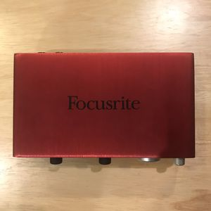 Focusrite Scarlet 2i2 digital interface for Sale in Seattle, WA
