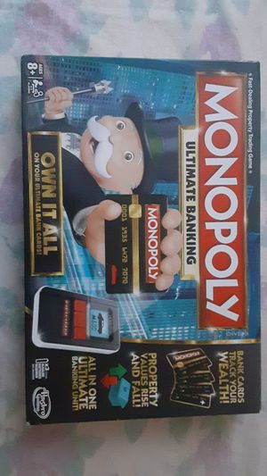 MONOPOLY ULTIMATE BANKING BOARD GAME for Sale in The Bronx, NY