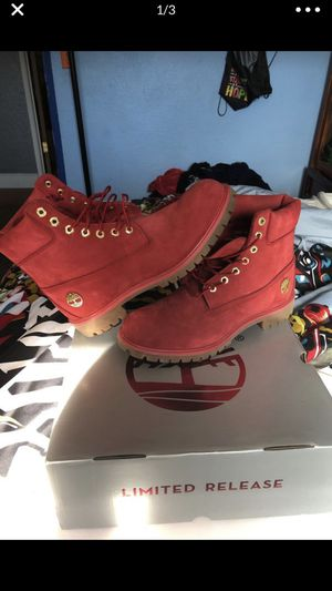 Limited Release Red Timberlands for Sale in Suisun City, CA